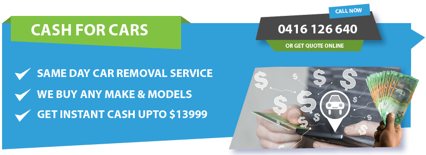 cash for cars removal western suburbs