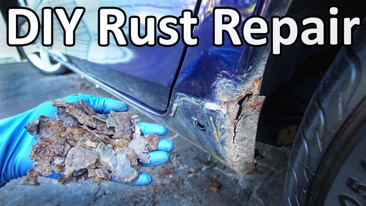 How To Remove And Repair Rust From Your Car