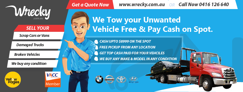 Car Wreckers Melbourne Cash For Cars